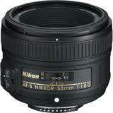 Nikon 50mm F1.8G Rental Orem