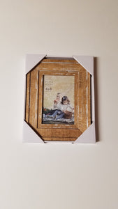 Prinz 4x6 Old Mill Distressed White Wood