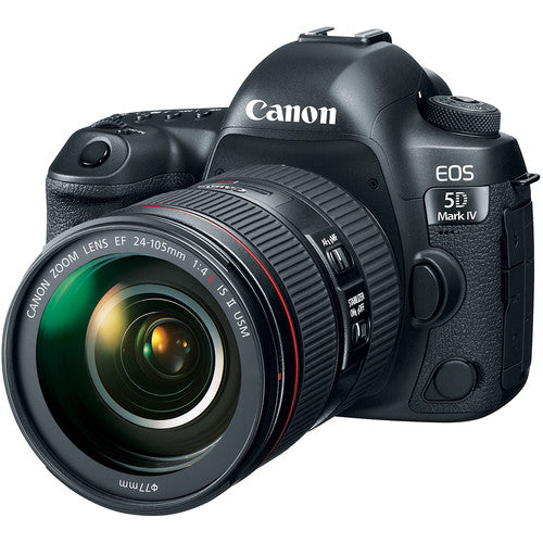 CANON EOS 5D MARK IV KIT W/24-105MM F/4L EF IS II USM LENS (5D4, 5DM4)