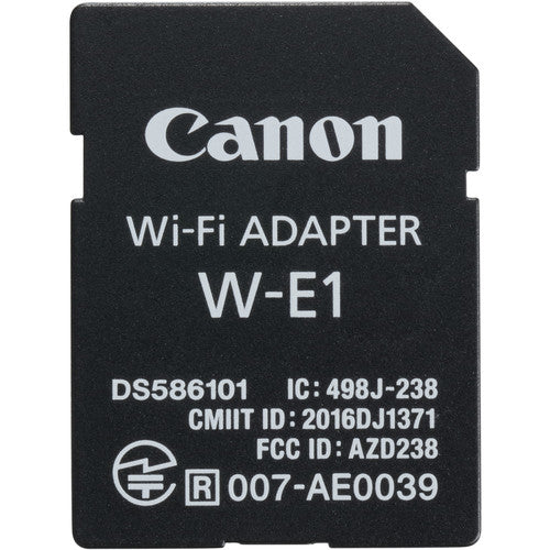 CANON WI-FI SD CARD - W-E1 (FOR 7D MII & 5D's)