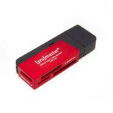 PRO SD/MS MULTI CARD READER USB 2.0 - RED (5230)