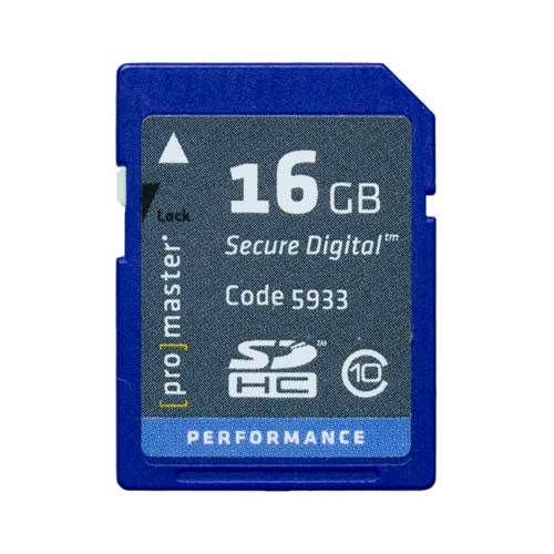 PRO SD CARD PERFORMANCE - 16GB (163X 24R/17W, discontinued)