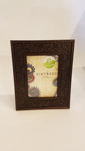 Sixtrees 5x7 Antique Bronze Embossed