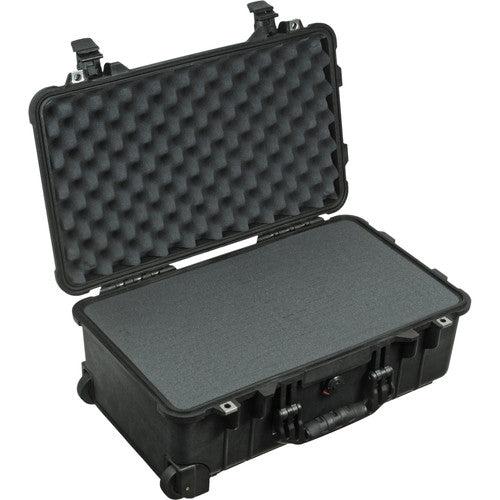 PELICAN CASE 1510 - BLACK W/FOAM (CARRY-ON)