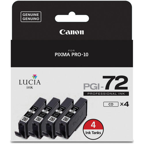 CANON INK SET FOR PIXMA PRO-10 (PGI-72 CHROMA OPTIMIZER 4-PACK)