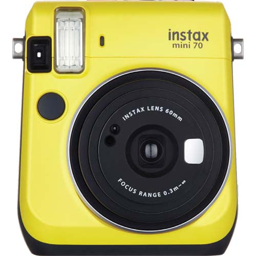 PRO FUJI INSTAX MINI 70 CAMERA - YELLOW