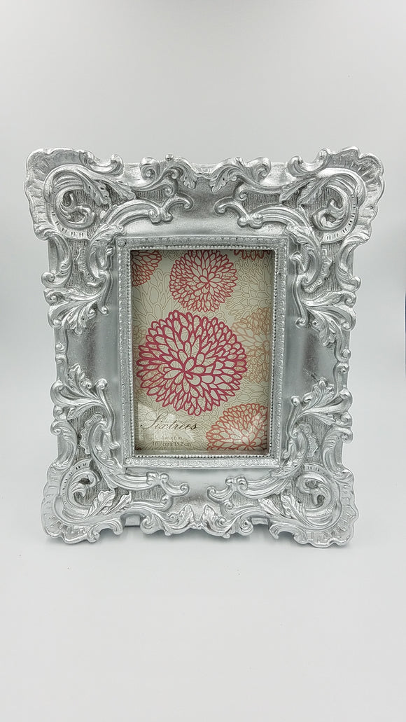 Sixtrees 4x6 Baroque Silver