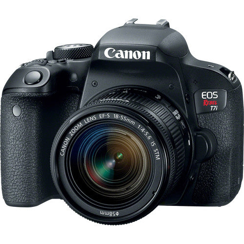 CANON EOS REBEL T7I KIT W/EF-S 18-55MM IS STM LENS