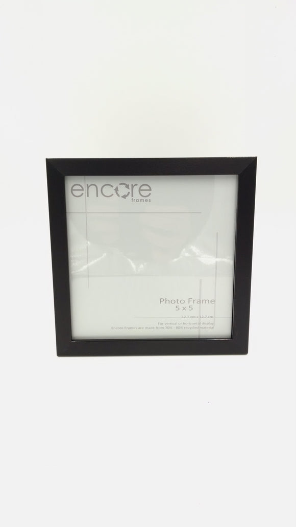 Encore 5x5 Brushed Black