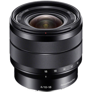 SONY LENS 10-18MM F/4 OSS SUPER WIDE E-MOUNT (APS-C)