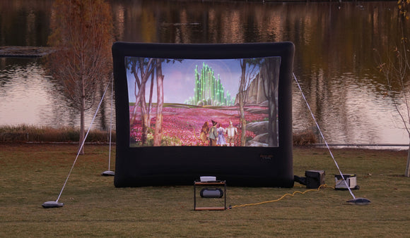 Outdoor Blow up Screen Rental Orem