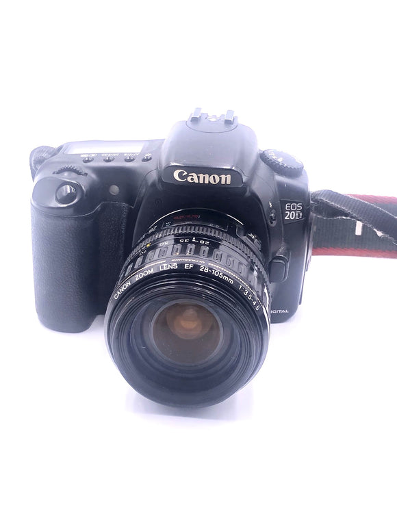 used Canon 20D/w 28-105 lens (SLC)