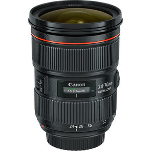 Canon Lens 24-70mm f/2.8 V.2 Rental - Provo