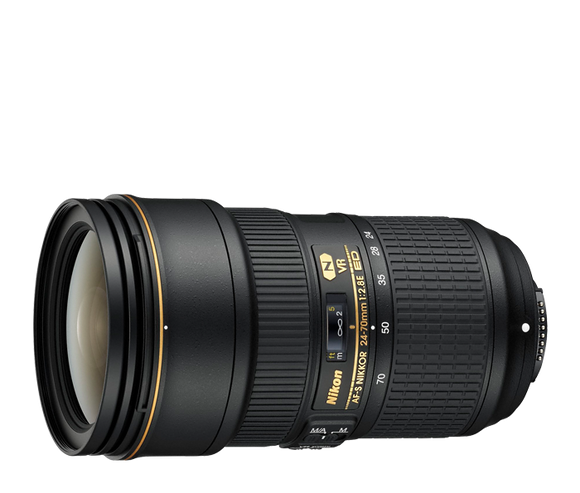 Nikon Lens 24-70mm f/2.8 Rental - Holladay