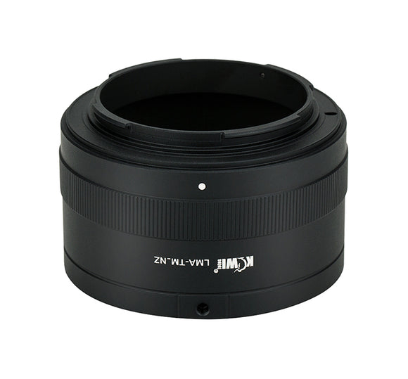 T mount Lens - Nikon Z Camera - Mount Adapter