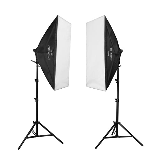 2 - Light AC Softbox Kit XL - 2' x 3' (4189)