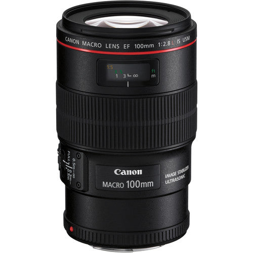 CANON LENS EF 100MM F/2.8L MACRO IS USM