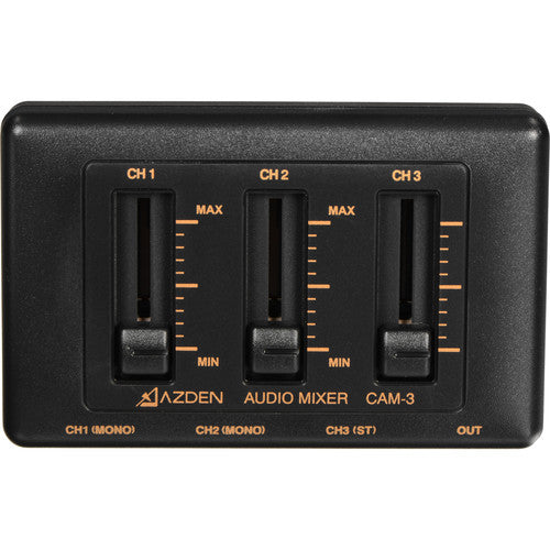 AZDEN MIC MIXER 3-CHANNEL (CAM-3)