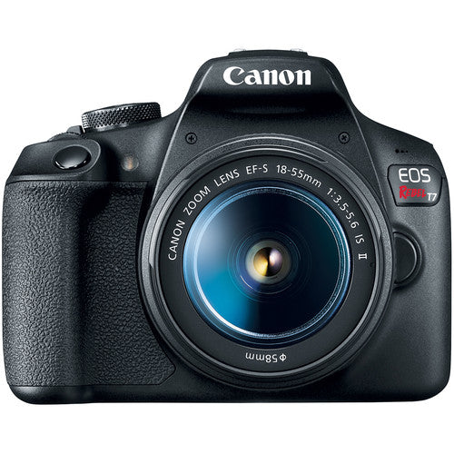 Canon Eos Rebel T7 with 18-55mm