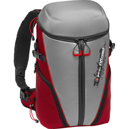 MANFROTTO BACKPACK - OFF ROAD STUNT GRAY/RED