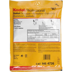 KODAK DEKTOL BW DEVELOPER (POWDER) - 1 GALLON