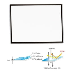 PRO LCD SCREEN PROTECTOR 2.7""