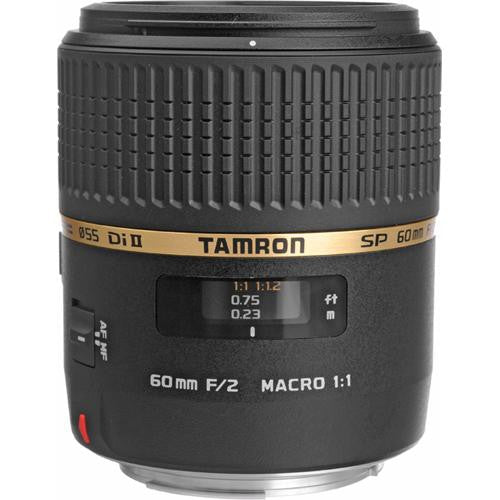TAMRON LENS 60MM F/2 SP AF DI-II LD (IF) MACRO - CANON