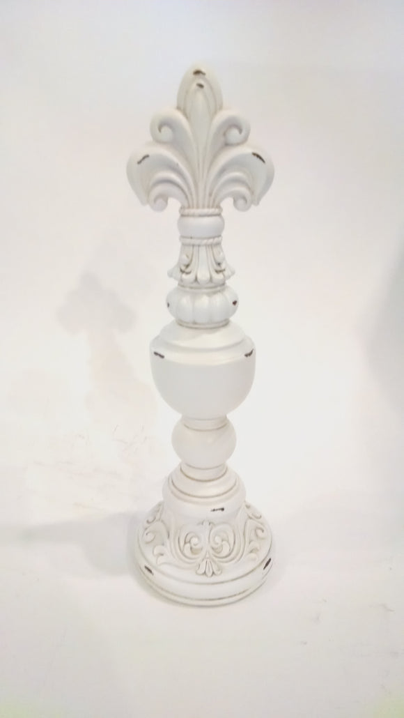 Prinz Venice Cream Finial Large