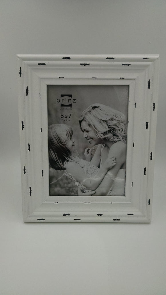 Prinz 5x7 Carson Distressed White