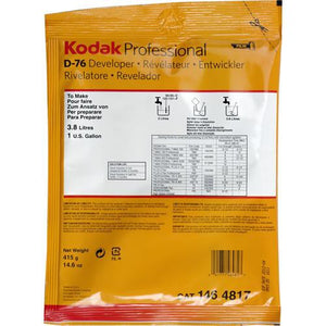 KODAK D-76 BW DEVELOPER (POWDER) - 1 GALLON