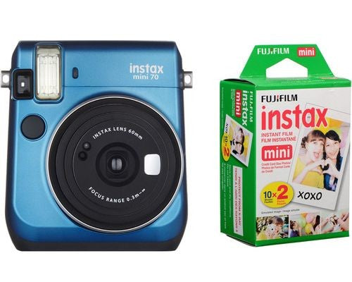 PRO FUJI INSTAX MINI 70 BUNDLE - BLUE D
