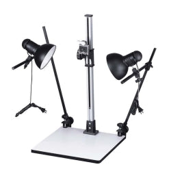 PRO COPY STAND KIT W/2 LIGHT FIXTURES (2174)
