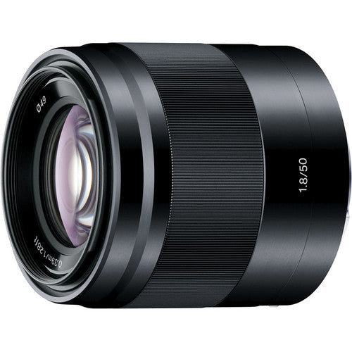 SONY LENS 50MM F/1.8 OSS E-MOUNT - BLACK (APS-C)