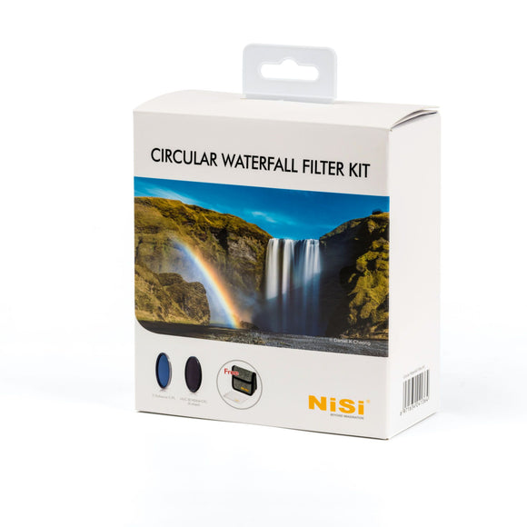 NiSi 77mm Circular Waterfall Filter Kit