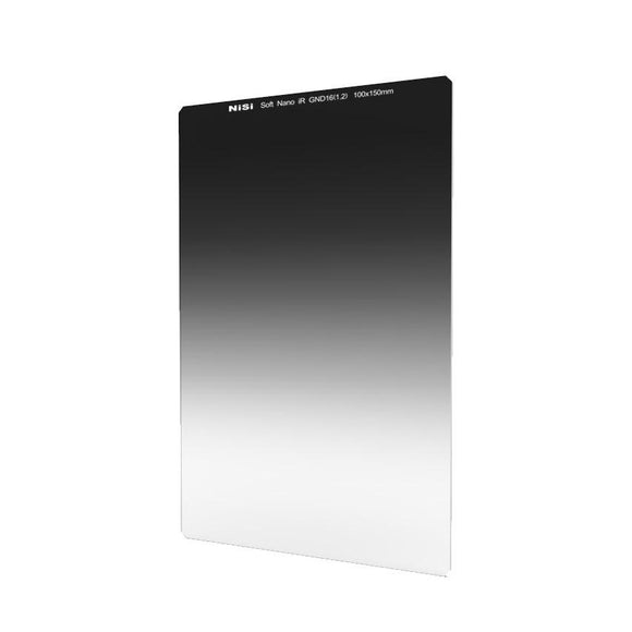 Nisi 100x150mm Nano IR Soft Graduated Neutral Density Filter – ND16 (1.2) – 4 Stop