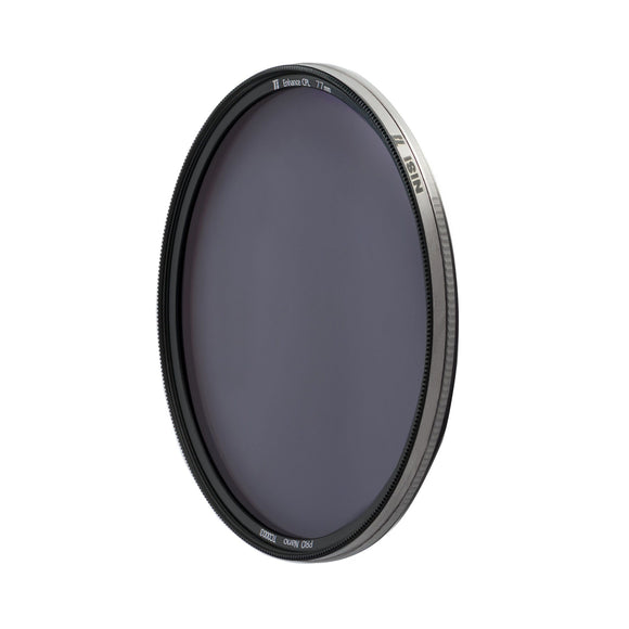 NiSi Ti Enhanced CPL Circular Polarizer Filter (Titanium Frame)