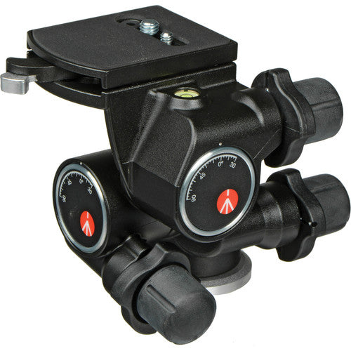MANFROTTO TRIPOD HEAD - 410 JUNIOR GEARED