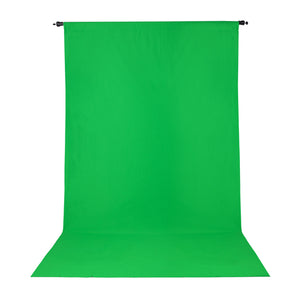 PRO WRINKLE RESISTANT BACKDROP 10x12 - CHROMA GREEN (2904)