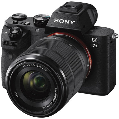 SONY A7II KIT W/28-70MM LENS - BLACK (A72, A7 MARK II, 2)