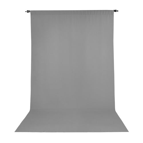 PRO WRINKLE RESISTANT BACKDROP 10x12 - GRAY (2855)