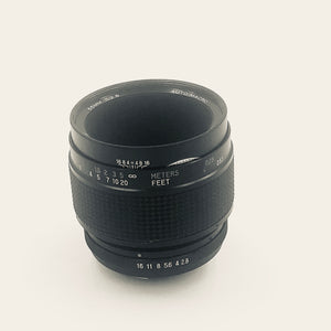 Used 55mm Vivitar Macro 1:1 f2.8 (slc)