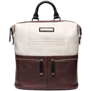 KELLY MOORE WOODSTOCK BACKPACK - CINNAMON BROWN