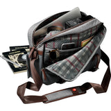 MANFROTTO SHOULDER BAG - WINDSOR REPORTER GRAY