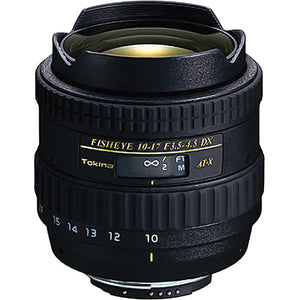 TOKINA LENS 10-17MM F/3.5-4.5 AT-X DX AF FISHEYE - NIKON