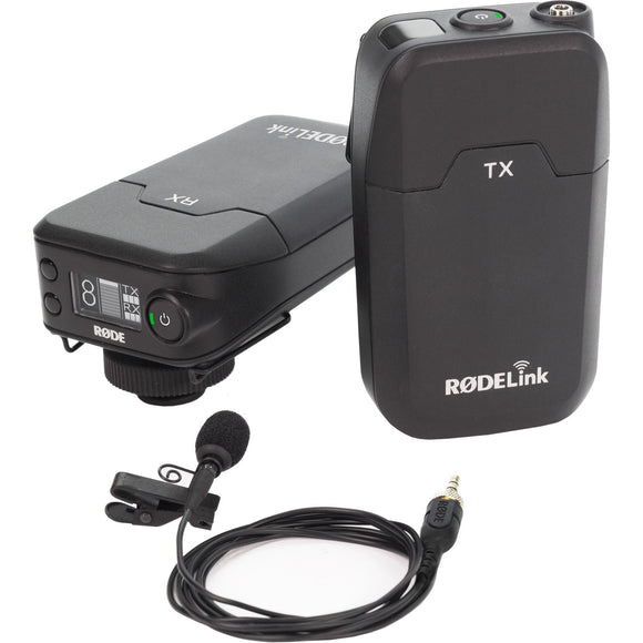 Rode Rodelink Wireless Lavalier Mic Filmmaker Kit Rental - Provo