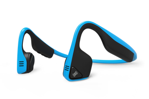AFTERSHOKZ TITANIUM HEADPHONES - BLUE