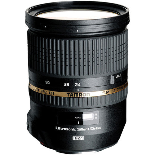 TAMRON LENS 24-70MM F/2.8 SP DI VC USD - CANON (SN: 068949)