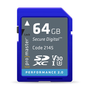 Promaster 64GB Performance Card