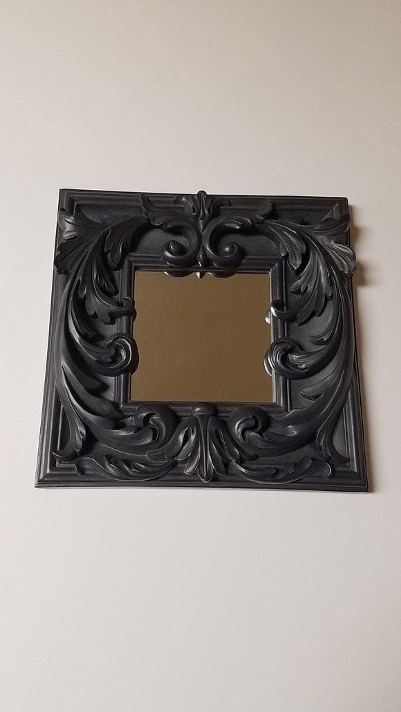 Prinz Decoro Black Square Mirror
