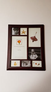 Dennis Daniels 8 Window Collage Walnut